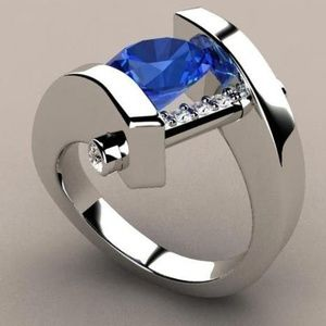 Jewelry - Exquisite Sapphire Fashion Ring NWT